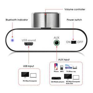 Image 3 - 2020 Nobsound Mini Bluetooth 5.0 Digital Amplifier Hifi Stereo Wireless Audio Receiver Power Amp 50W+50W Car Sound Amplifiers