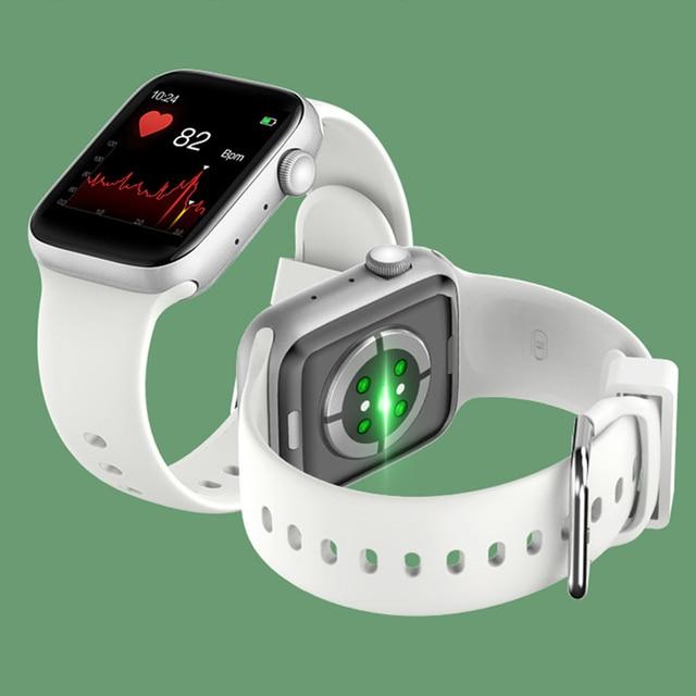 T500 Smart Watch Bluetooth Call Fitness Tracker Heart Rate Full Touch Smartwatch Men & Women Music Control Sport Watch IWO 4