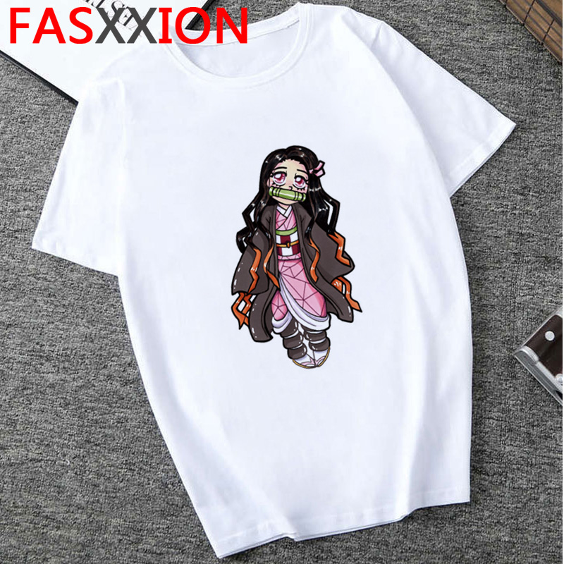 H8701e3c30b8546419f6ec5d96268e2aeY - Demon Slayer T-shirt  Graphic Tees Men Streetwear  Japanese Anime Cool Tshirt Funny Cartoon Kimetsu No Yaiba T Shirt Male