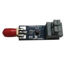 Najlepsze oferty G10-003 Mini 1:9 HF antena Balun SMA-F odbiornik dla 160M-6M amatorskie pasmo częstotliwości
