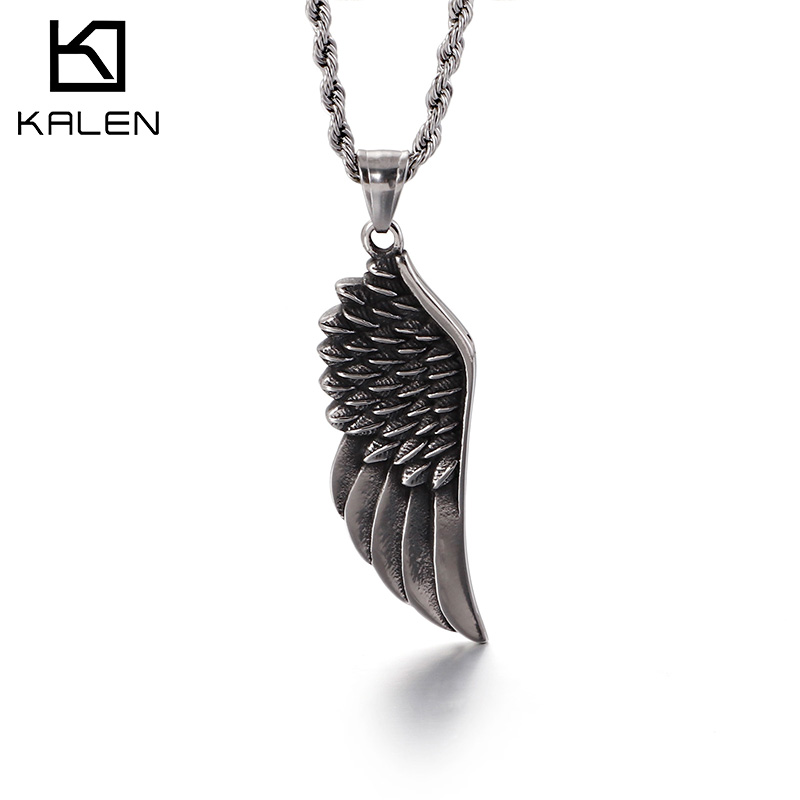 Skeleton Hand Necklace Copper Stainless Steel Pendant Punk Jewelry ForWomen