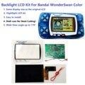 Комплект ЖК-экранов WSC Hightlight IPS, яркость подсветки для игровой консоли Bandai WonderSwan