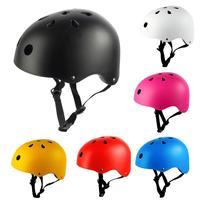 3 Size 6 Color Round Mountain Road Bike Adult Kids Outdoor Sports Bicycle Skateboard Safety Strong MTB Cycling Helmet Cap Bicycle Helmet    -