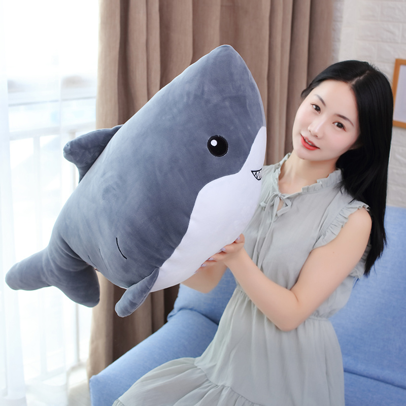 plush toy doll lovely sea animal whale shark big mouse nap pillow cushion gift