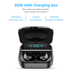 Image 3 - TWS Wireless Earphones Wireless Earbuds Earphones Mini Waterproof Headfrees with 2200mAh Power Bank For All Phone