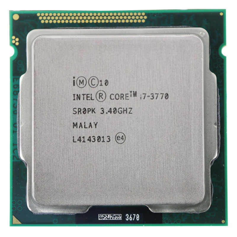 Intel Core I7-3770 I7 3770 CPU 3.4 GHz/8 MB/Quad Core/22nm/Socket LGA 1155 CPU