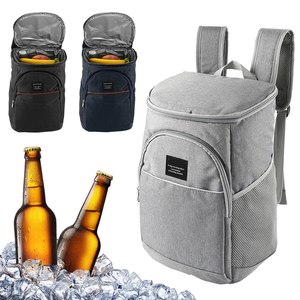 Image 2 - 18L Thick oxford thermal bag cooling backpack family lunch picnic food storage insulated organizer ice pack fresh shoulder bags
