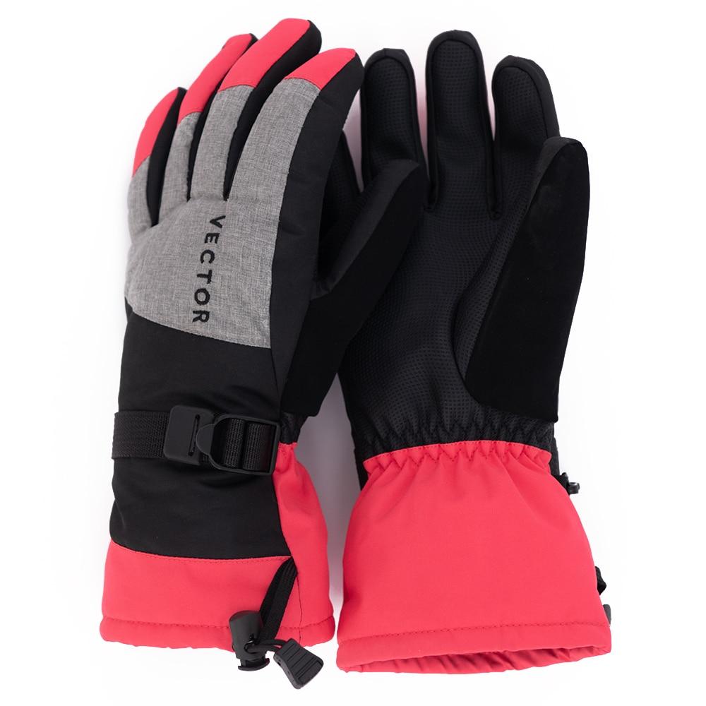 VECTOR Ski Gloves Women Warm Winter Waterproof Skiing Snowboard Gloves Snowmobile Riding Motorcycle Outdoor Snow Gloves