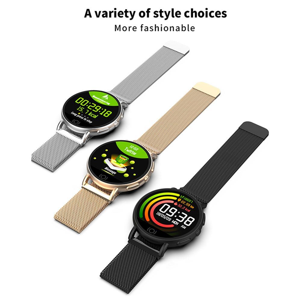 Male Woman's IP67 Waterproof Smart Watch Android/iOS Smart Wristband Heart Rate Monitor Multi-functional Smart Bracelet