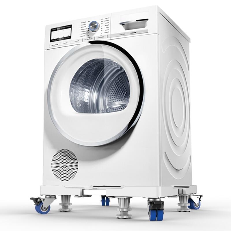Image 5 - Washing Machine Stand Universal Mobile fridge Base Multi functional  Adjustable Base for Dryer Refrigerator (4 Wheel  and Feets)TV Mount   - AliExpress