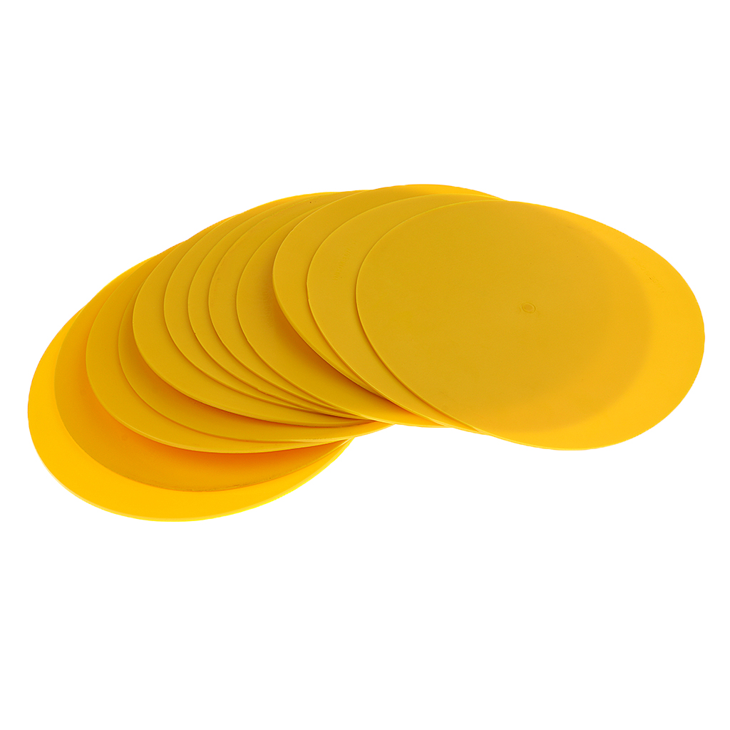 12 Pieces Durable PVC Sports Spot Markers For Training And Drills