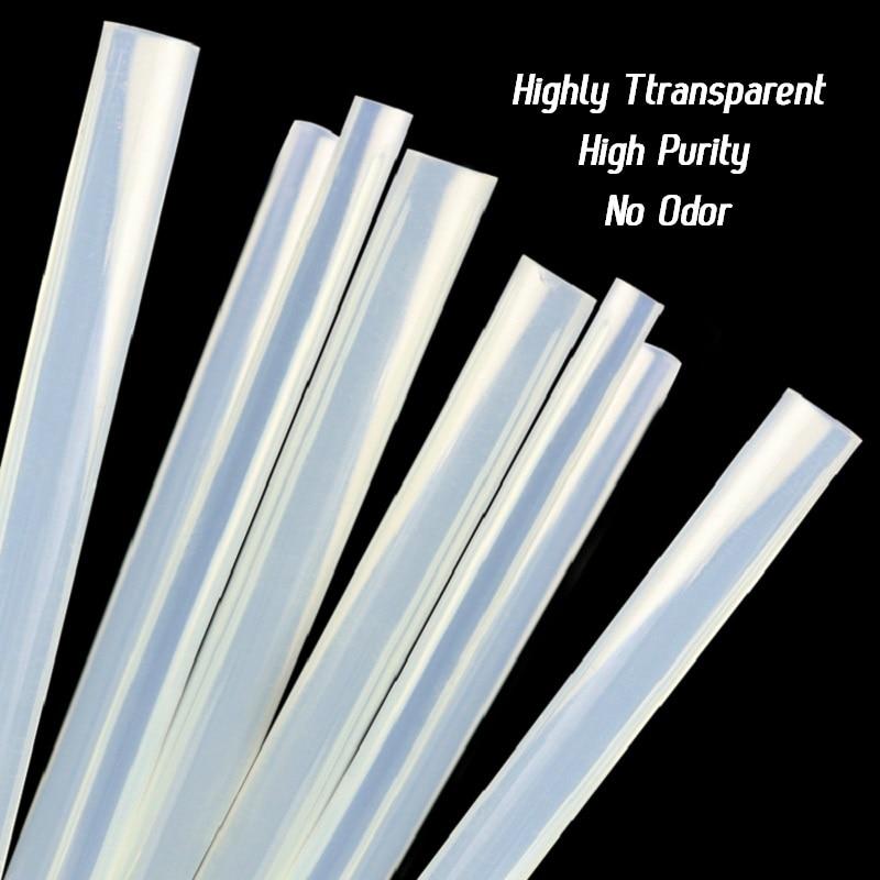 LAOA 30 pz Traslucido Chiaramente 7mm / 11mm Melt Stick di colla per - Utensili elettrici - Fotografia 3