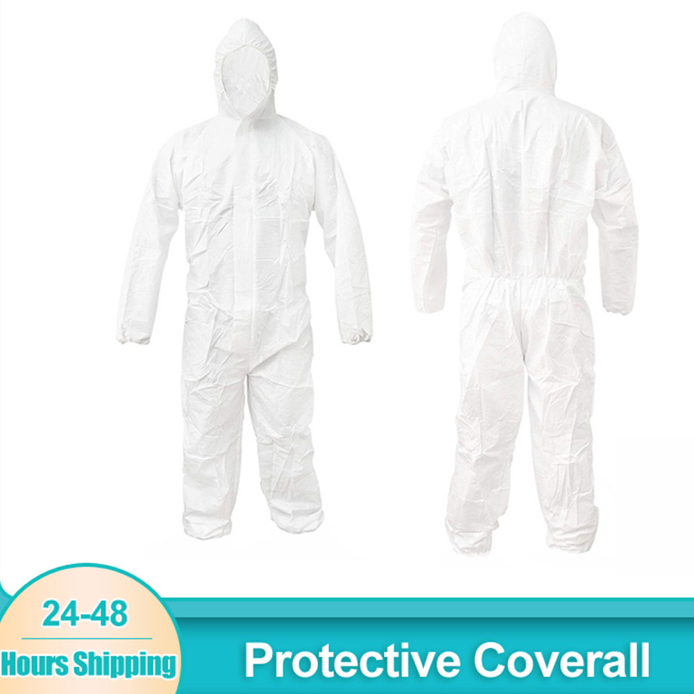 XXL Quality Disposable Overalls Clothes Protection Paper Suit DIY Protective