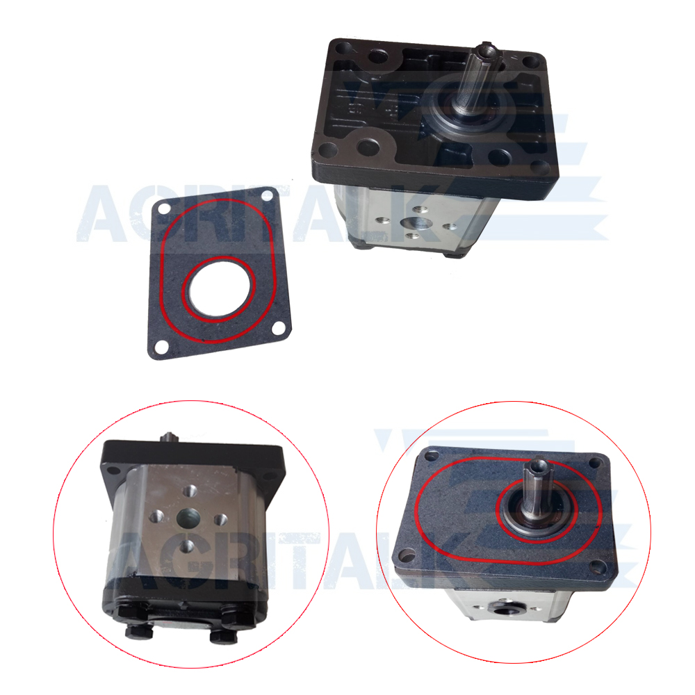 Hydraulic Gear Pump CBN-316 / CBN-320 For Yituo  YTO Tractor X454 / X504 / X550 / X554 Series, Part Number: