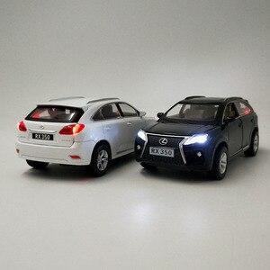 Image 4 - Lexus SUV RX350 1:32, modèle de voiture en alliage moulé sous pression, modèle de voiture jouet pour enfants, cadeaux danniversaire de noël, livraison gratuite