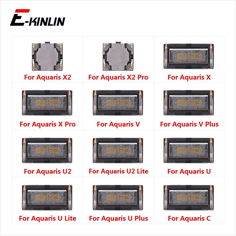 Top Ear Speaker Receiver Earpieces For BQ Aquaris X2 X Pro C V U U2 Lite Plus Replacement Parts
