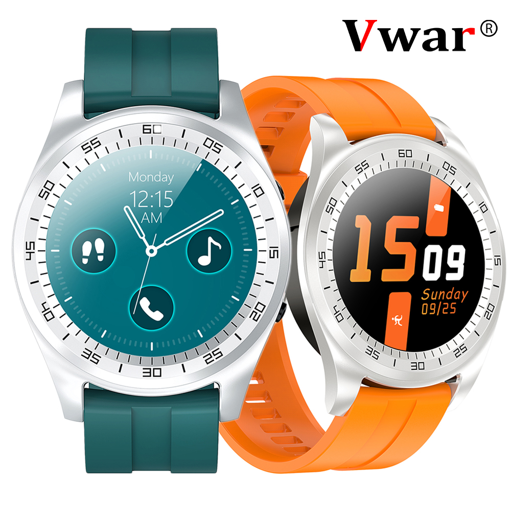 Vwar veo-<font><b>1</b></font> Bluetooth Call Smart Watch Support SIM TF Card Music Player 2G Men Women <font><b>Smartwatch</b></font> GT2 For Android Huawei IOS Phone image