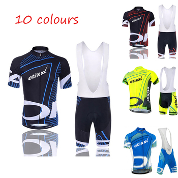 2020 ETIXXL Summer Cycling Jersey Set Breathable MTB Bicycle Cycling Clothing Mountain Bike Wear Clothes Maillot Ropa Ciclismo phtxolue long sleeve pro cycling set 2017 maillot ciclismo mtb jersey bike wear clothes summer cycling clothing men