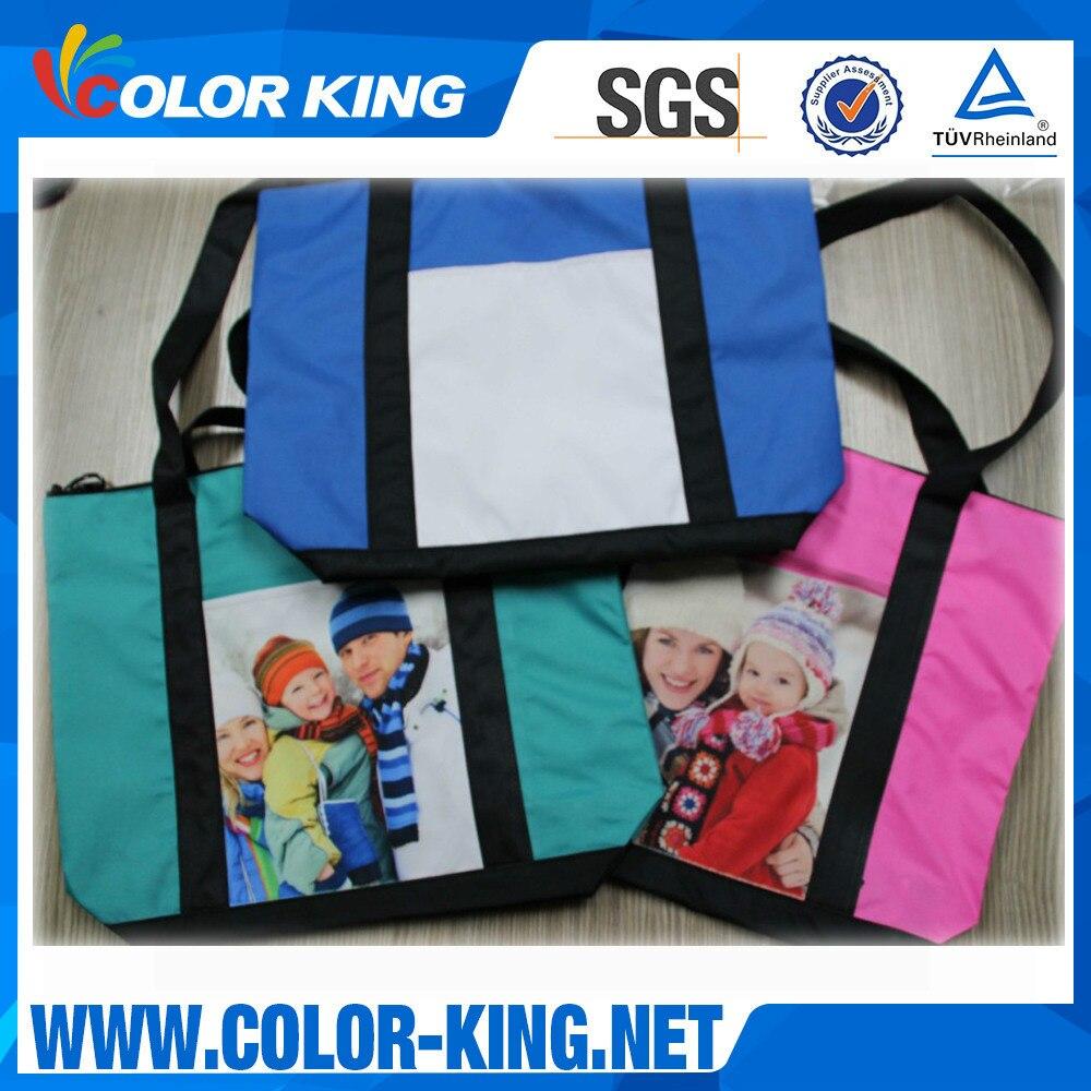 Environmentally Friendly Shopping Bag Thermal Transfer Canvas Bag 130g Thermal Transfer Blank Diaper Bag