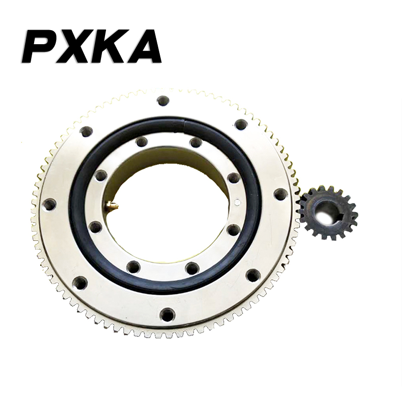 Small and medium-sized support bearings for slewing external gear crane turntable automation robotic arm fog gun