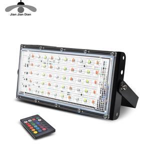 Image 1 - Led Flutlicht 50W Spotlight Park Beleuchtung Outdoor Led straßenleuchte AC 220V 240V Wasserdichte IP65