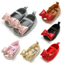 Shoes Newborn Toddler Pudcoco Bowknot Wedding 0-18M Girls Princess Kids