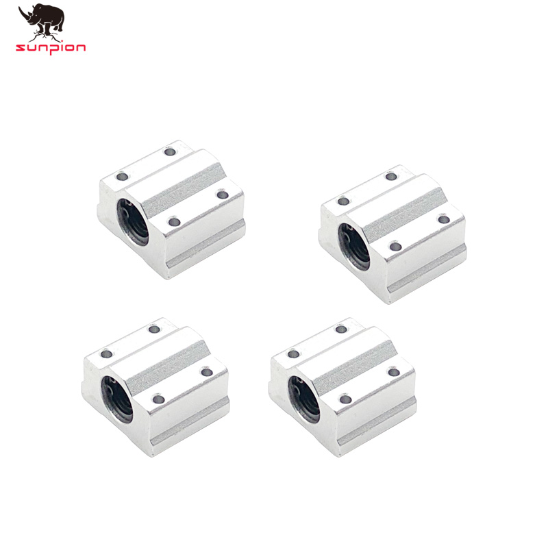 <font><b>4pcs</b></font>/lot <font><b>SC8UU</b></font> SCS8UU 8mm Linear Motion Ball Bearing Slide Bushing Linear Shaft for CNC for 3D printer free shipping image