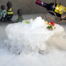 Bols à salade faits à la main, spécialement glace sèche, Conception artistique en verre, bol de cuisson creux, articles de table créatifs pour les délices moléculaire