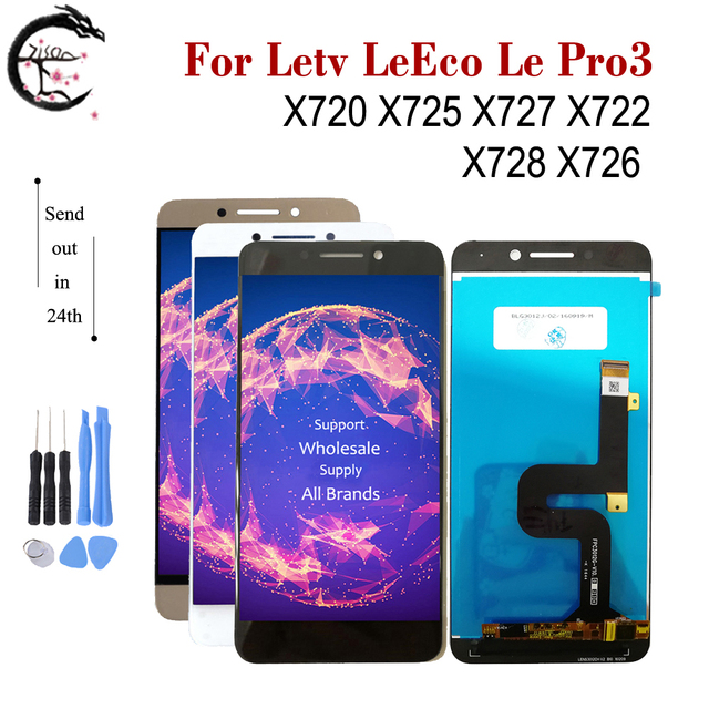 Pantalla LCD de 5,5 pulgadas para Letv, montaje de digitalizador táctil, para LeEco Le Pro 3, Pro3, X720, X725, X727, X722, X728, X726