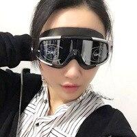 Óculos de proteção de alta definição baleia ultra grande quadro óculos de natação miopia impermeável anti nevoeiro álcool por volume óculos de natação w Óculos de segurança     -