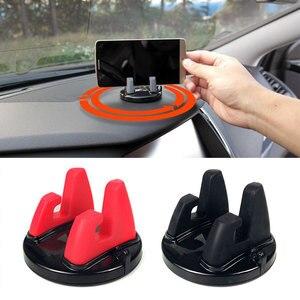 Universal 360 Degree Car Phone Holder for Toyota Corolla RAV4 Yaris Honda Civic CRV Nissan X-trail Tiida Accessories(China)