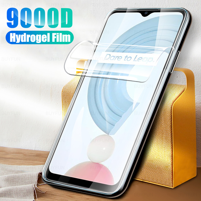 "1 3pcs readmi c21 hydrogel film readmy c21 anti scratch screen protector film not glas for oppo realme c21 c 21 21c film 6.5"""