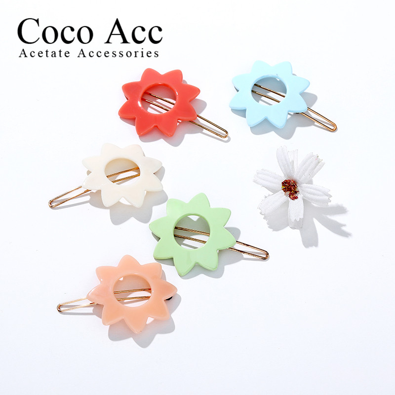 Fashion Hair Clips For Women Girls Kawaii Kids Hair Accessories frog clips Barrettes Candy Color Hairpins Clip For Hair