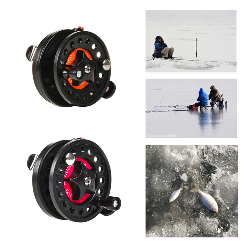 Winter Ice Fishing Reels Ball Bearings Personal Reels Mini Fishing Reel Carp Fishing Fish Brake Handle Front Reel Tool