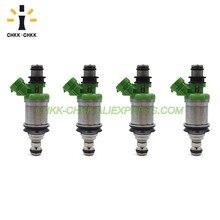 CHKK-CHKK 23250-74140 23209-74140 Renovation fuel injector for TOYOTA CELICA / CAMRY / SOLARA / RAV4 2.2L 5SFE 2.0L 3SFE chkk chkk 23250 0t050 23209 09360 fuel injector for toyota general rav4 asa44 zsa4 2013 2 0l 6zrfae