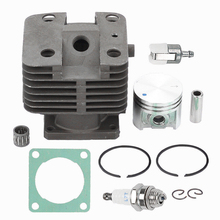 Brand New Cylinder Piston Kit For Stihl FS120 FS200 FS250 FS202 HT250 FS020 TS200 Trimmer With High Quality carburetor ignition coil module kit fit stihl fs300 fs350 fs120 fs200 fs250 fs250 r fs020 fs202 ts200 trimmer weedeater cutters