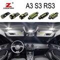 Белый светодиодный светильник без ошибок, 100% Canbus, для Audi A3 S3 RS3 8L 8P 8V (1996-2015)
