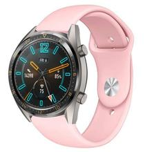 Silicone Watch Strap For Huawei Watch Gt 2e Watchband 22mm Watch Band Huawei Watch Gt2 Gt2e Huawei 46mm Sport Bracelet Strap недорого