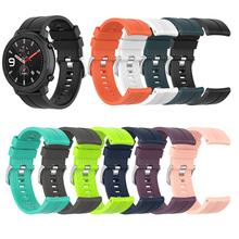 Sports Silicone Wrist Strap for Xiaomi Huami Amazfit GTR 47mm Band for Huami Amazfit Bip lite Watch Bracelet watchband(China)
