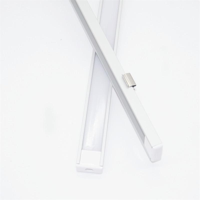 20inch 0.5m/pc, LED Aluminum Profile Matte Diffuser Flat Ultra Slim Led Channel For 12mm Pcb,5V 12V 24V Tape Light Housing