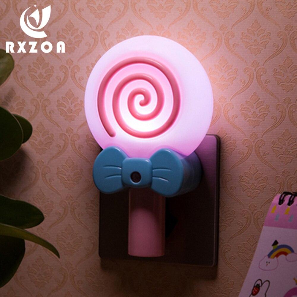 Intelligent Induction Led Night Light Energy-saving Light Control Cartoon Baby Feeding Bedroom Sleep Bedside Eye Protection Lamp