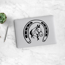 Fashion Kuda Trackpad Stiker Laptop Stiker untuk Laptop Decal Air 13 Pro Retina 11 12 15 Inci Mac Buku Touchpad(China)