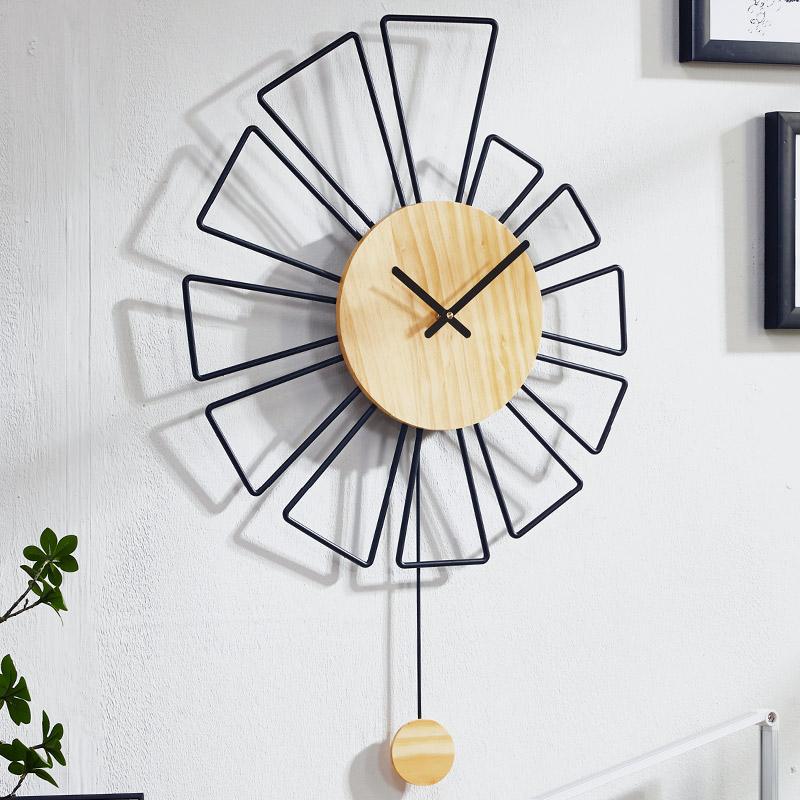 Large Pendulum Wall Clock Gold Living Room Art Creative Nordic Modern Wall Clocks Big European Duvar Saati Watch For Home Zb5wc Wall Clocks Aliexpress