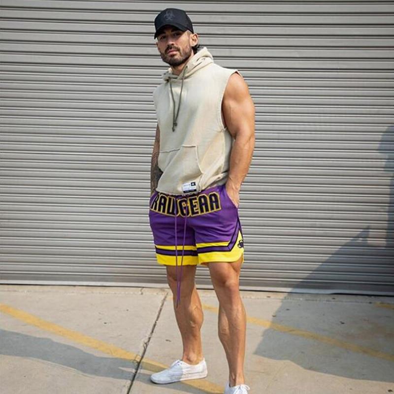 Новинка лета 2021, спортивные шорты для фитнеса, мужские тренировочные свободные быстросохнущие Пятиточечные брюки для баскетбола, игры и бега