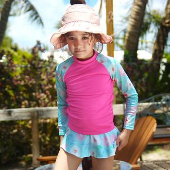 Stroje kąpielowe dla dzieci dla dziewczynek kwiaty stroje kąpielowe z nadrukiem topy + spodenki stroje kąpielowe plażowe letni kostium kąpielowy da bagno bambina tanie i dobre opinie CN (pochodzenie) Kobiet 13-24m Poliester Pasuje prawda na wymiar weź swój normalny rozmiar Drukuj kids swimwear for girls