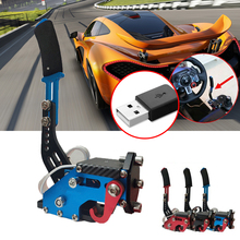 Universal 14Bit Control Sensor Replacement Adjustable Height Easy Install USB Handbrake Drift Auto For Racing Games G25/27/29