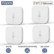 Aqara Smart Temperatur Sensor wifi thermostat Luftdruck Temperatur Feuchtigkeit Zigbee sensor app smart home Sensor