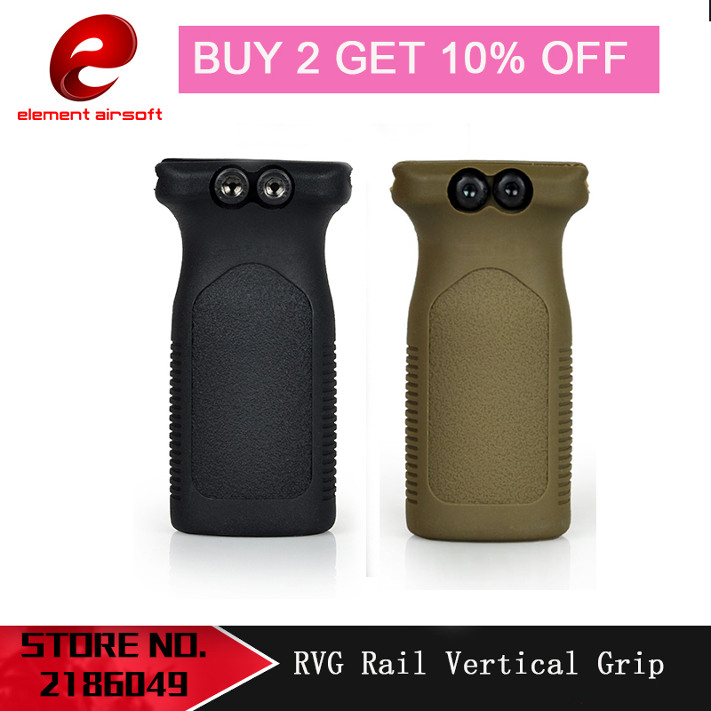 Element Tactical RVG Rail Vertical Grip Front Griff Forward Foregrip For Picatinny Rail EX189
