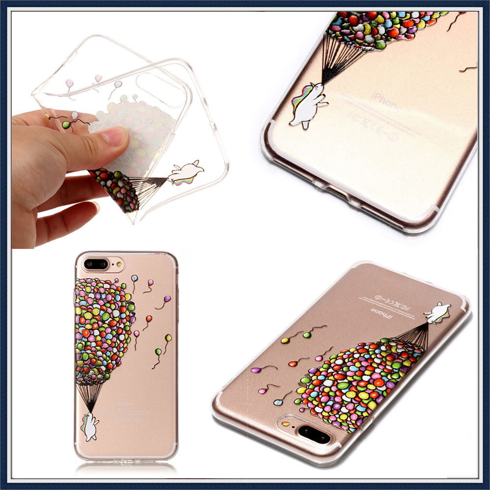 Case for Iphone 6s Soft Clear TPU Back Cover for 5 5S 6 sPlus X XS Max XR Christmas Phone Case for Iphone 7 8 Plus  11 Pro max  (46)