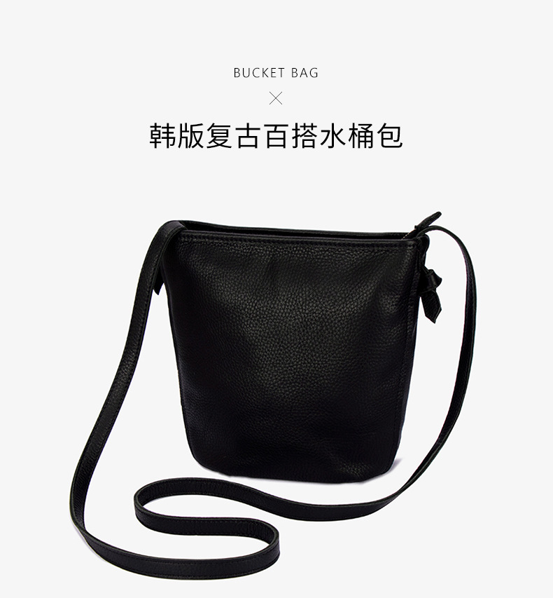 Couro macio pequeno saco tendência feminina bolsa